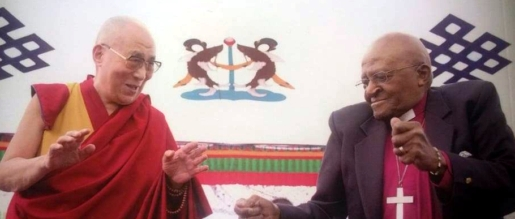 Dalai Lama e Desmond Tutu - 7/Jul - 15h